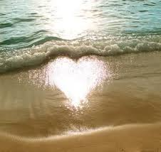 heart and sand