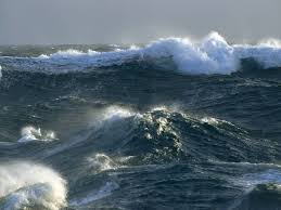 waves at sea
